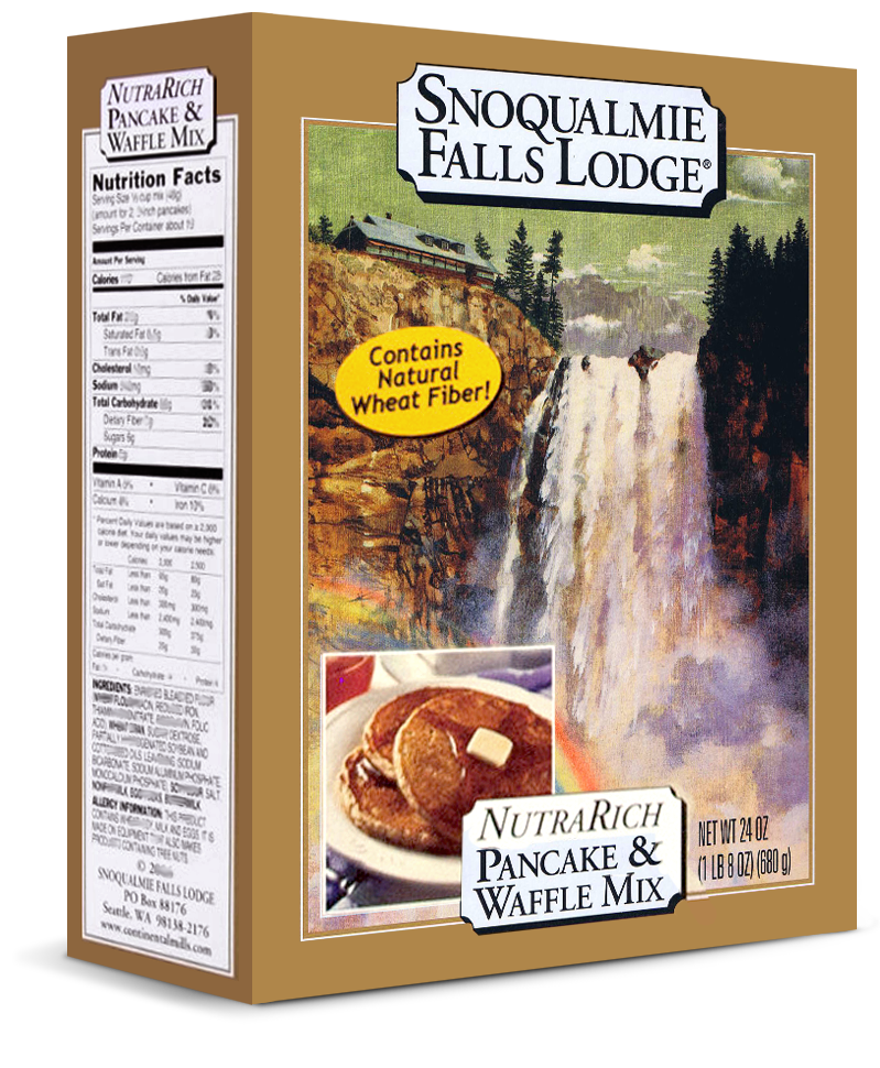 Snoqualmie Falls Lodge NutraRich Pancake and Waffle Mix